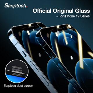 Sanptoch Kính Cường Lực Bảo Vệ Màn Hình Chống Bụi Cho iPhone 12 13 Pro Max 12 Mini-Intl thumbnail