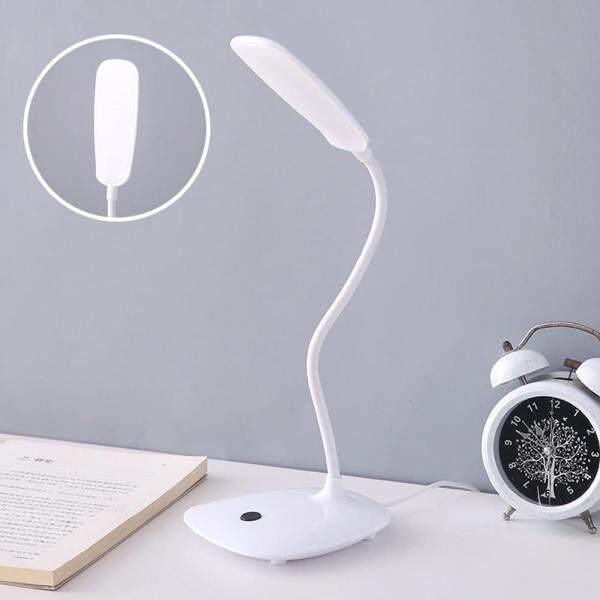 Đèn LED Đọc Sách Để Bàn Đèn Bàn Văn Phòng Học Tập Gấp Được Hỗ Trợ USB Có Thể Uốn Cong