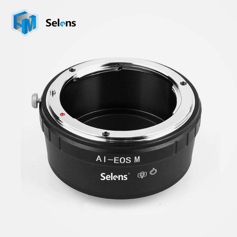Selens Adapter Ring AI-EOS M For Nikon F AI Mount lens to Canon EOS