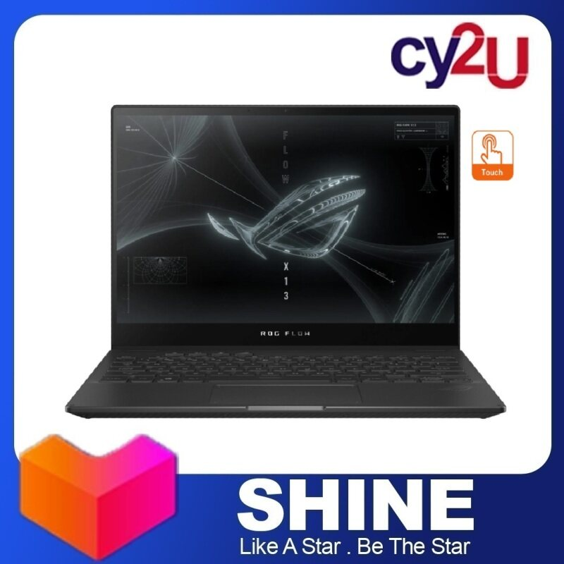 Asus ROG Flow X13 GV301Q-HK6306T 13.4 FHD Touch Gaming Laptop (AMD Ryzen 7 5800HS, 16GB RAM, 512GB SSD, NVD GTX1650, Win10) + Asus Sleeve and Asus Flow Stylus Pen Malaysia