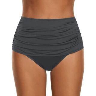 Auburyshop Áo Tắm Cho Phụ Nữ Bikini Xếp Nếp Cạp Cao Cho Nữ Đồ Bơi Tankini Quần Lót Vải Chất Lượng Cao, Đẹp, Sexy, Sẵn Sàng Vận Chuyển, Phong Cách Hàn Quốc, Quần Bơi Ba Điểm, Quần Bơi Bãi Biển thumbnail