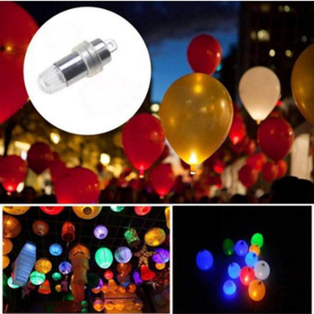 Loviver 24xLED Balloon Lamp 7-Color Night Light Waterproof Wedding Party Bar Decor