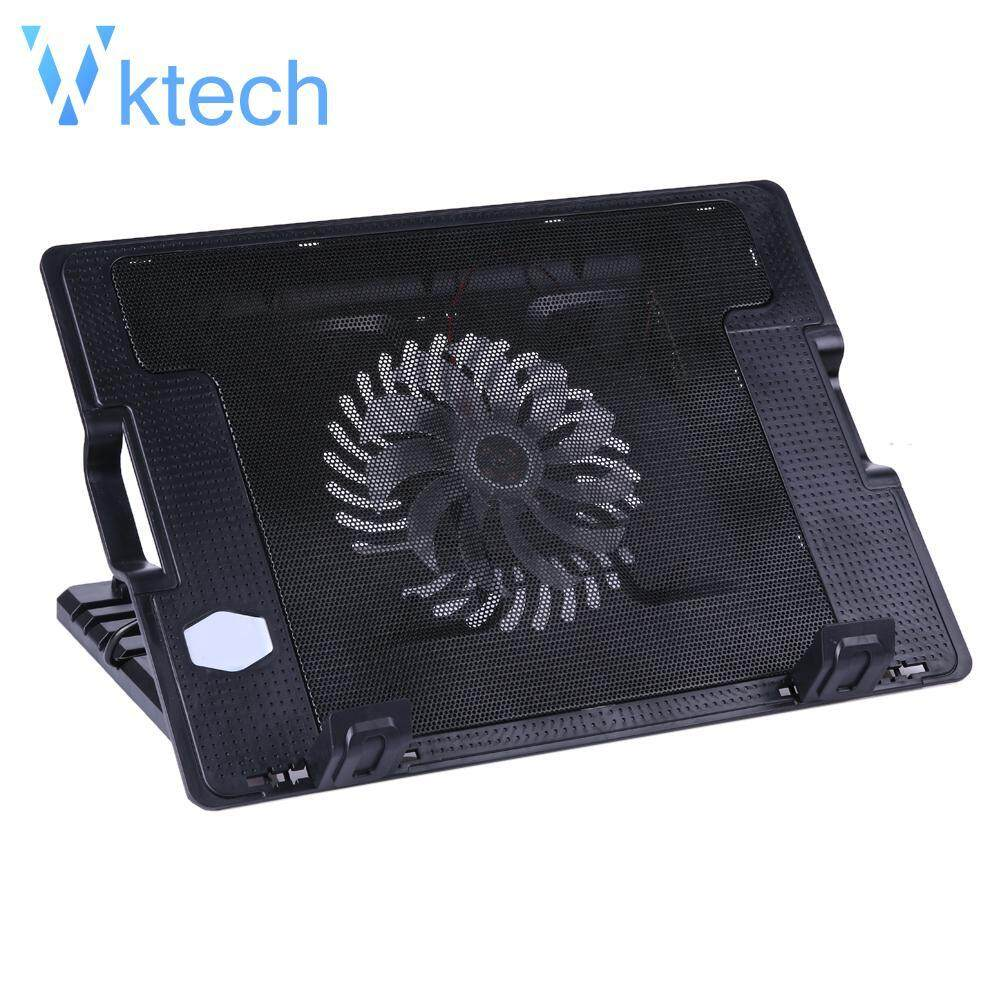 [Vktech] M25 2 USB Adjustable Laptop Cooling Cooler Pad Stand For PC Notebook Malaysia