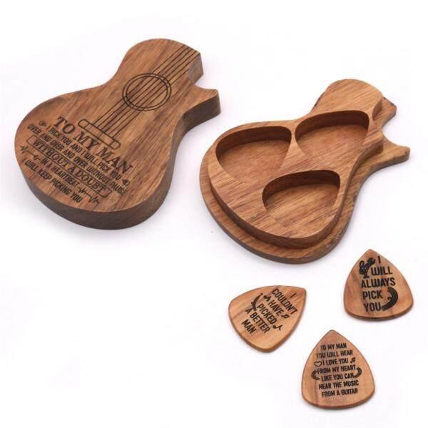 Miếng gảy đàn guitar bằng gỗ Miếng gảy đàn guitar tinh tế Phụ kiện cho Đàn Ghi-ta