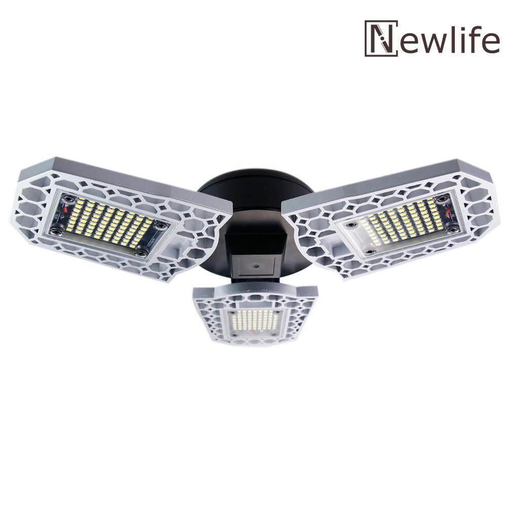 60W E27 E26 Deformable LED Garage Light Adjustable Workshop Ceiling Lamp