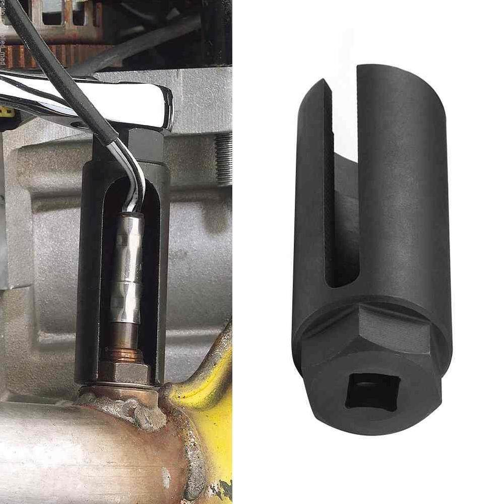 Lissng Profesional Hitam Soket Sensor Oksigen Alat Penghapus 3/8 Drive 8 Mm Slot By Lissng.