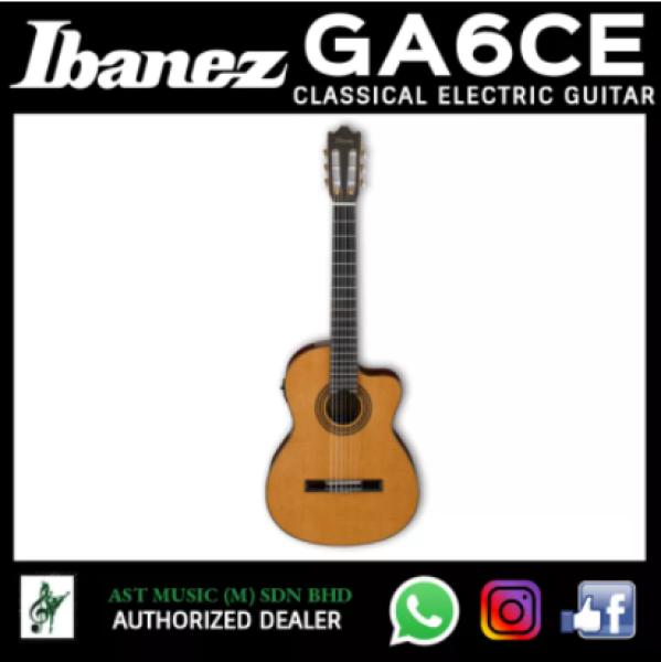 Ibanez GA6CE Classical Electric Guitar - Amber High Gloss Malaysia