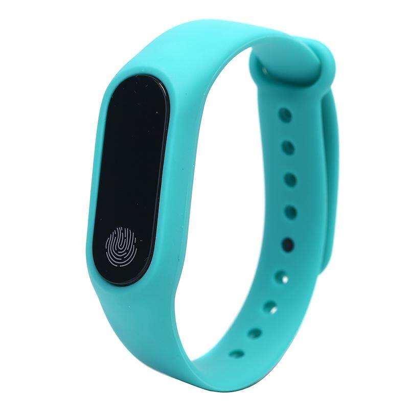 Beautiful Speace M2 Smart Band Watch Bracelet Wristband Fitness Tracker Blood Pressure Heartrate Blue Malaysia