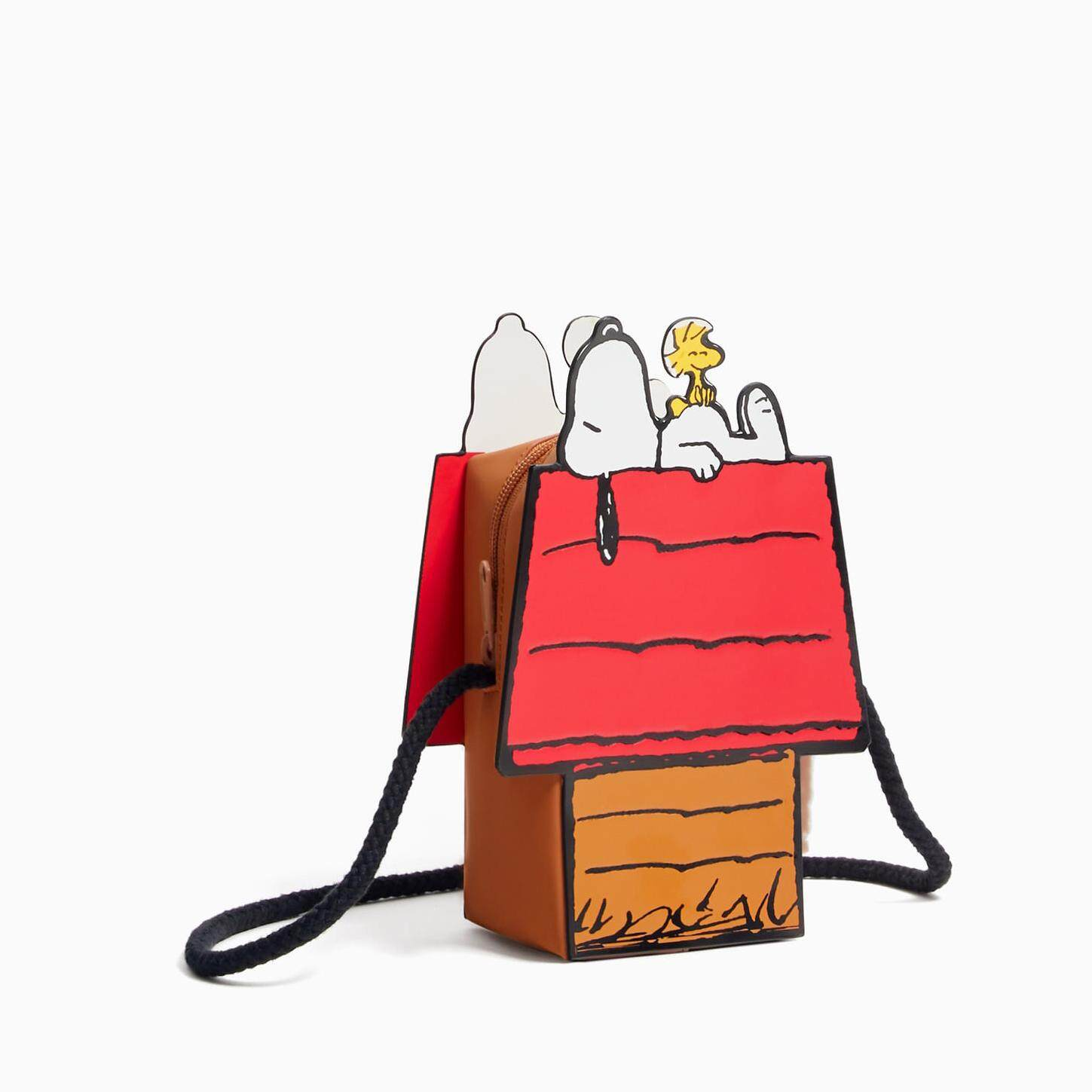9b7559c96b Zara Peanuts Snoopy Collection Crossover Bag