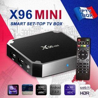 Bộ Thông Minh X96 Mini Android 9.0 1 + 8G 1 + 16G -Đầu TV Box, Bộ Mini Amlogic S905W Quad Core 4K 3D Media-Hộp Trên Cùng thumbnail