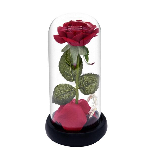 Bảng giá Đèn Ngủ Hoa Hồng Nhân Tạo Quà Tặng Giáng Sinh Valentine Đèn Hoa Hồng Vĩnh Cửu Lãng Mạn Led Glass Bìa Cơ Sở Gỗ