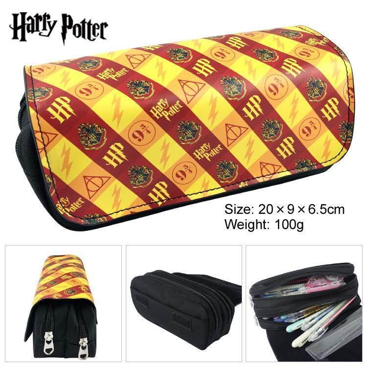 Harry Potter Pen Box Hogwarts Pencil Case Bag Student School Supplies Stationery
