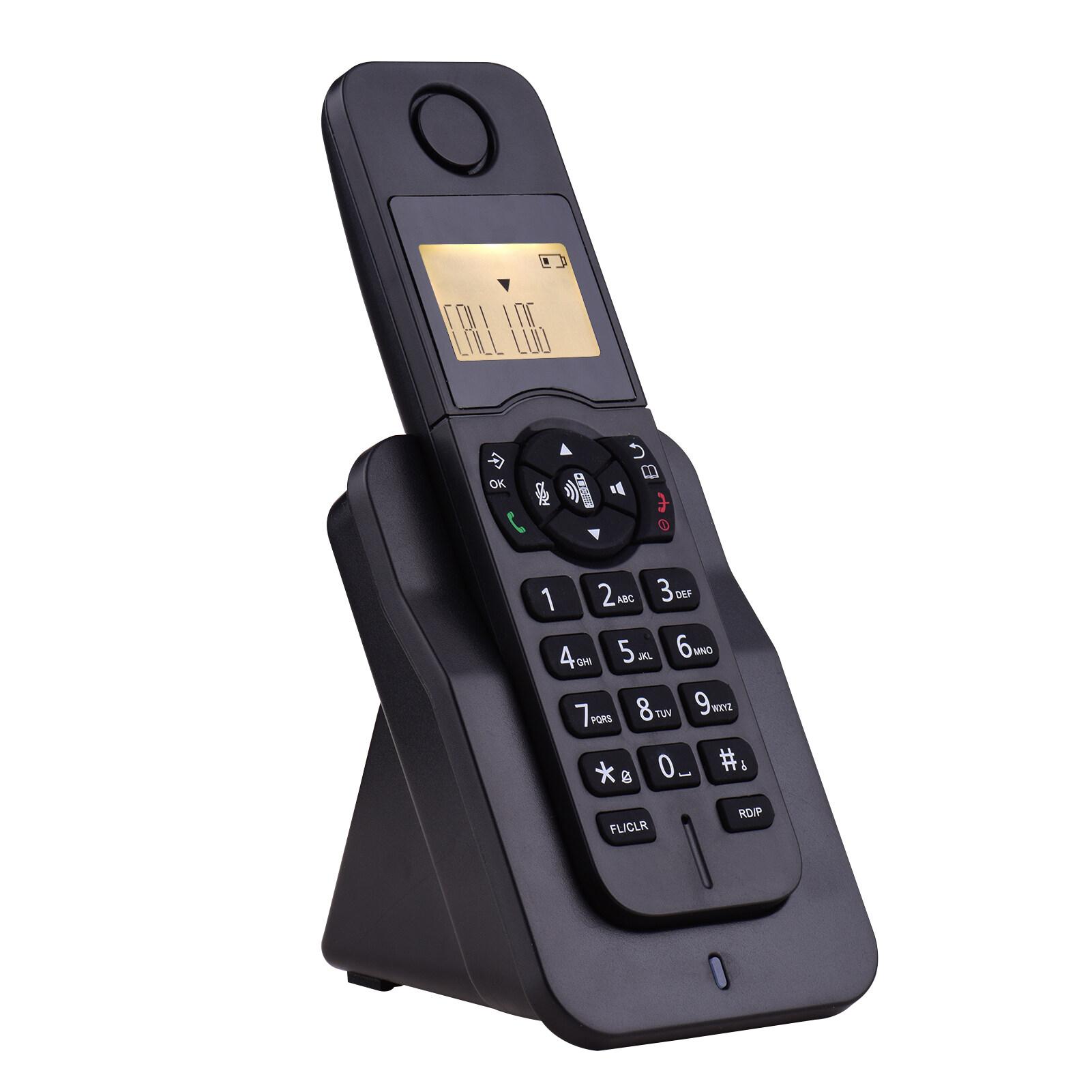 ขยายโทรศัพท์ไร้สายโทรศัพท์จอแสดงผลlcdหมายเลขผู้โทร50สมุดโทรศัพท์ความทรงจำแฮนด์ฟรีconference Call 16ภาษาสนับสนุน5การเชื่อมต่อสำหรับสำนักงานธุรกิจครอบครัว.