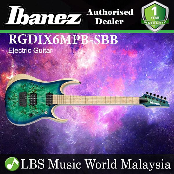 [Not Available] Ibanez RGDIX6MPB-SBB Ash Body ElecTric Gutar Surreal Blue Burst (RGDIX6MPB SBB) Malaysia