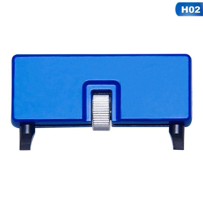 2 Pcs Adjustable Rectangle Watch Back Case Cover Opener Remover Wrench Repair Kit Tool