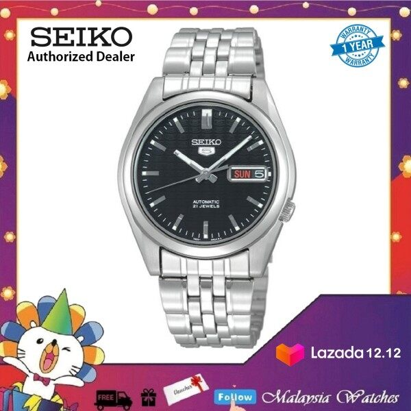 Seiko 5 SNK361K1 Automatic Stainless Steel Bracelet Gents Watch Malaysia