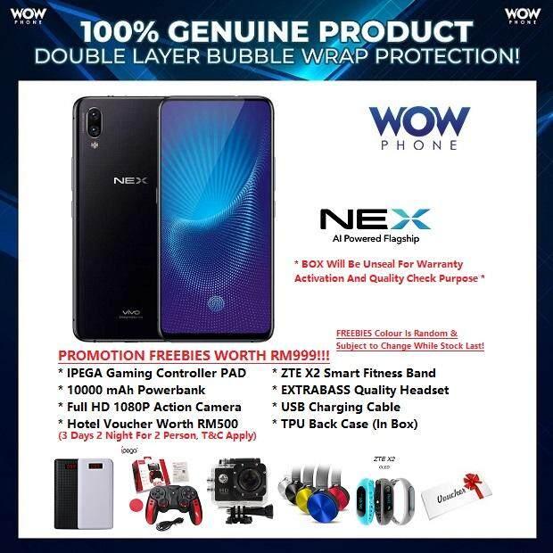 Vivo Nex 8gb128gb Rom Original Vivo Malaysia Set With 1 Year