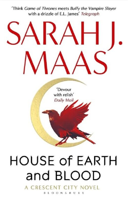 (MPH) Cresent City #1: House Of Earth and Blood:9781526622884:By Maas,Sarah J Malaysia