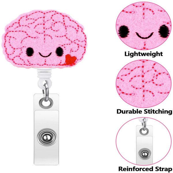 Mua Brain Badge Reel Y Tá Có Thể Thu Vào Người Giữ Huy Hiệu Cảm Thấy Điều Dưỡng Tên Người Giữ Huy Hiệu