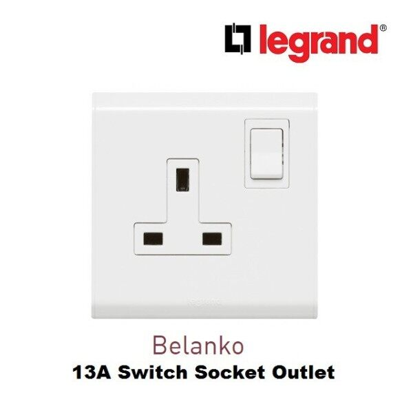 LEGRAND Belanko 13A Switched Socket Outlet