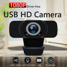Webcam 1080P HD USB Cắm Và Chơi Máy Quay Phim Màn Hình Rộng Cho Máy Tính PC
