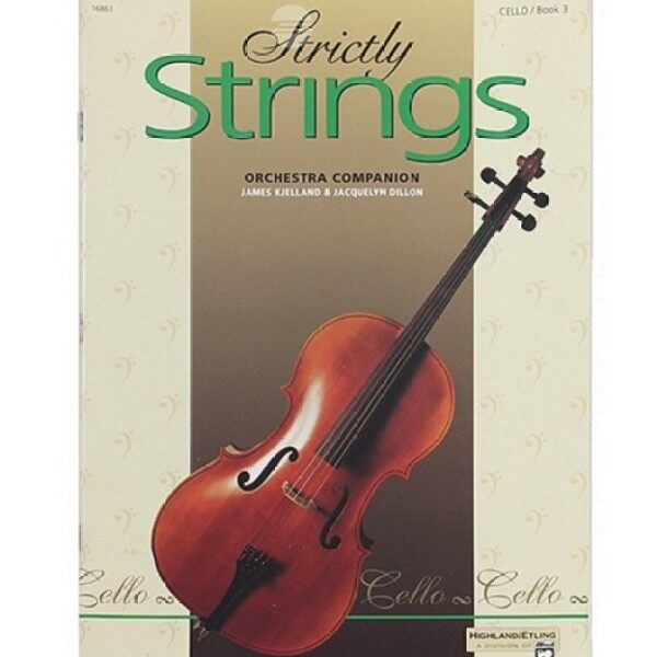 STRICTLY STRINGS CELLO Book 3 Malaysia