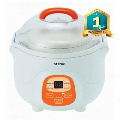 Khind Baby Porridge Cooker Bps07 (0.7l) Auto Keep Warm By Sjk Electrical.