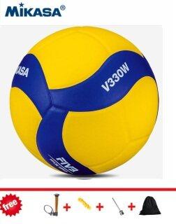 Bóng chuyền Mikasa v200w v300w v330w Thế vận hội Tokyo bóng chuyền trò chơi chính thức (Xanh Vàng) bóng chuyền miễn phí bốn món quà thumbnail