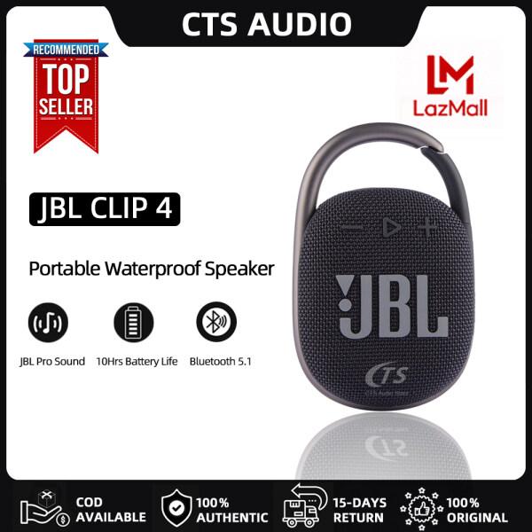 JBL Clip 4 Portable Waterproof Speaker / IP67 waterproof and dustproof / 10 hours of battery life Singapore