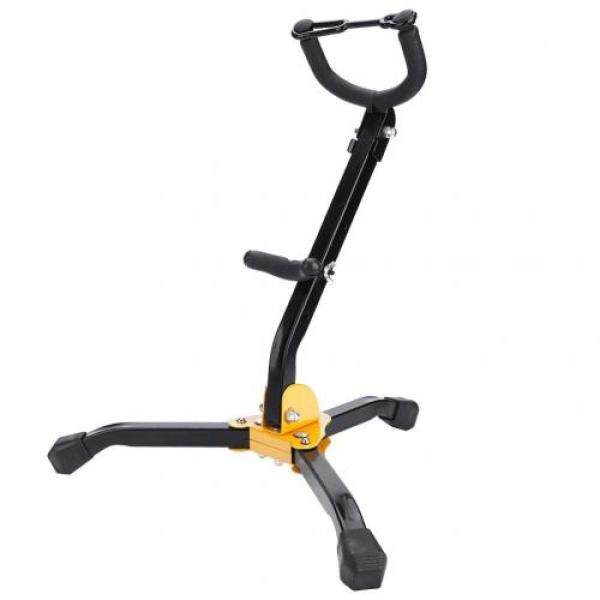 Sax stand Tripod stand Stable, wear-resistant and durable Foldable, easy to carry, non-slip ergonomic holder Saxophone accessory Alto saxophone/tenor sax combination Malaysia