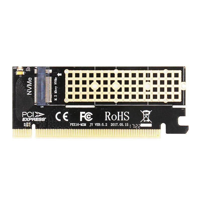 MX16 M.2 NVMe SSD NGFF TO PCIE 3.0 X16 adapter M Key interface card Suppor PCI Express 3.0 x4 2230-2280 Size m.2 FULL SPEED