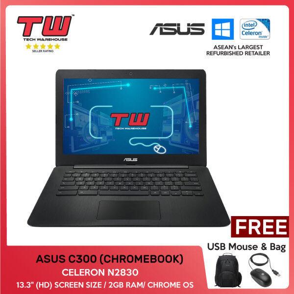 MALAYSIA DAY SALE 🔥 ASUS C300 (CHROMEBOOK) /CELERON N2830/ LAPTOP/ 13.3 (HD) / 2GB RAM /TECH WAREHOUSE Malaysia