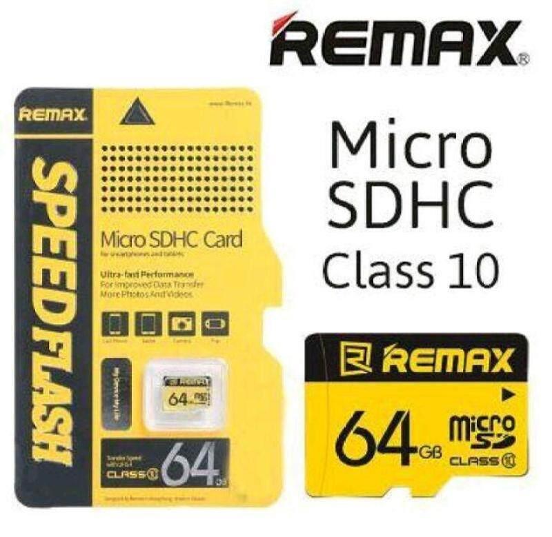 Thẻ nhớ Remax tốc độ cao chính hãng 8GB 16GB 32GB 64GB Micro SD TF Memori