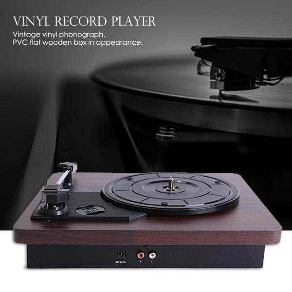 [High quality]33 45 78 RPM Record Player Antique Gramophone Turntable Disc Vinyl Replacement Audio Output Singapore
