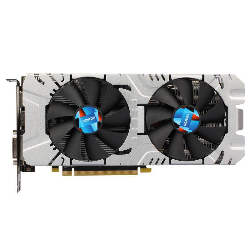 Yeston RX580 GPU 4GB GDDR5 256Bit 1257MHz 7000MHz Gaming Graphics Card