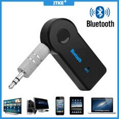 Bộ Thu Phát Âm Thanh Bluetooth 5.0 JTKE Giắc Cắm AUX USB 3.5Mm Âm Thanh Nổi Mini Bluetooth Bộ Tai Nghe Xe Hơi Cho PC T V Bộ Chuyển Đổi Không Dây