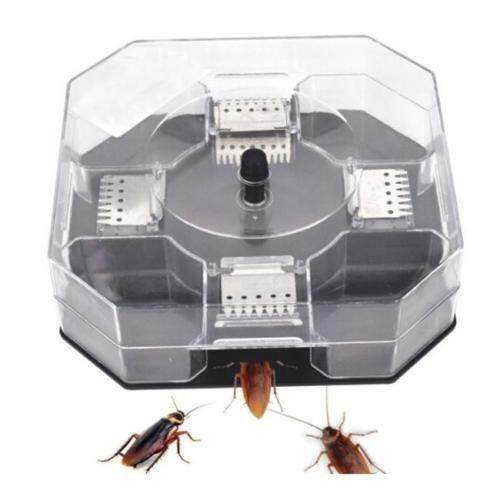 【High Quality】Effective Reusable Cockroach Catcher Trap Killer Bait Box