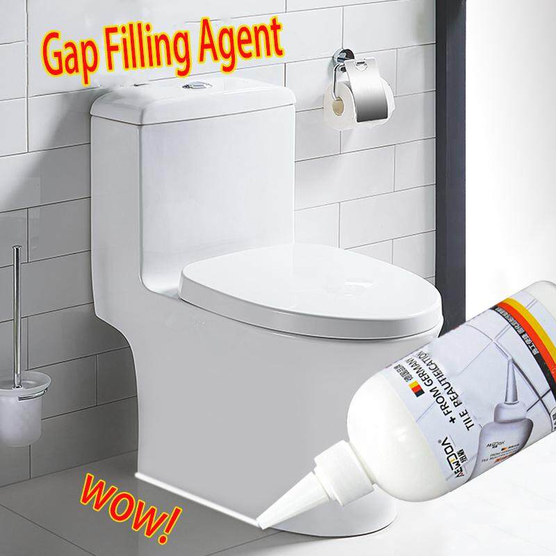 No More Gaps Golden tile wall gap grouting agent floor tile filling tool floor grouting agent waterproof and mildew beauty grout Beautiful Sealant for Floor Waterproof Mouldproof for Wall Porcelain (White)