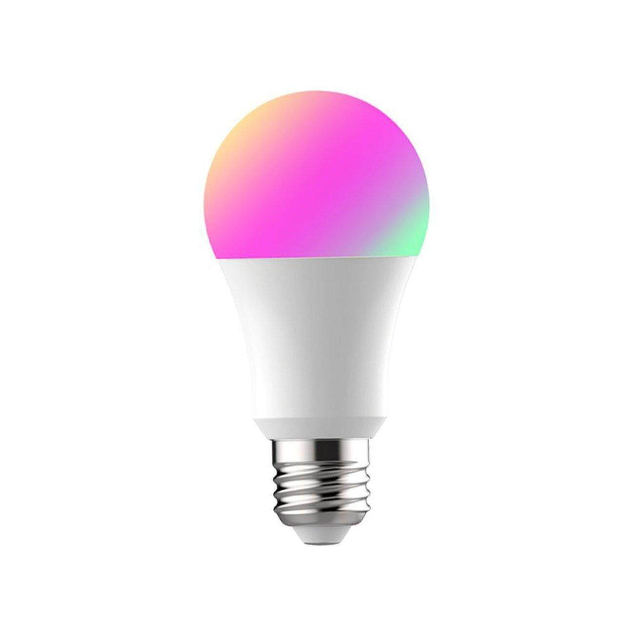 Gila Dijual Perubahan Warna Wifi LED Pintar Bohlam Amazon Kontrol Suara Alexa Bohlam Yang Dapat Diredupkan TB95