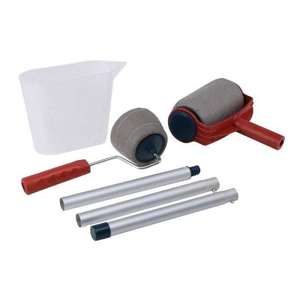 Bộ dụng cụ cọ sơn DIY, phụ kiện sơn thông minh, Chổi lăn sơn tường gia đình, dài, dùng cho khách sạn, văn phòng, gia đình