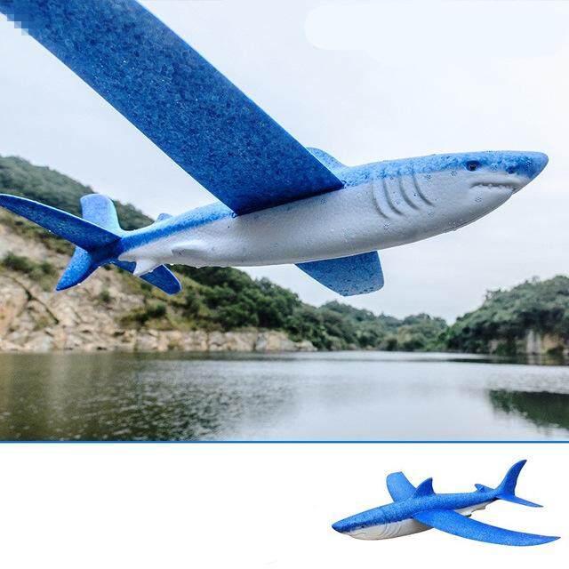 Plane Toy Simulation Animal Hand Throwing Foam Airplane, Child Toy Shark Dragon Dragon Hawk Plaza Airplane Toy