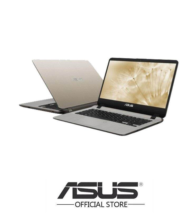 "(Online Exclusive) Asus Vivobook A407U-BBV238T 14"" Laptop(Pentium/4GB/256SSD/MX110) Malaysia"