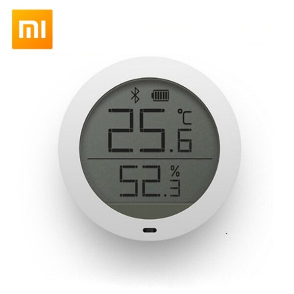 Xiaomi LCD Screen Digital Thermometer Mijia Bluetooth Temperature Smart Humidity Sensor Moisture Meter Mi Home