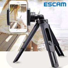 ESCAM Bộ giá đỡ điện thoại 3 chân bằng nhựa, hỗ trợ chụp ảnh tự sướng đa góc, dễ dàng mang theo,tripod,chân đỡ điện thoại