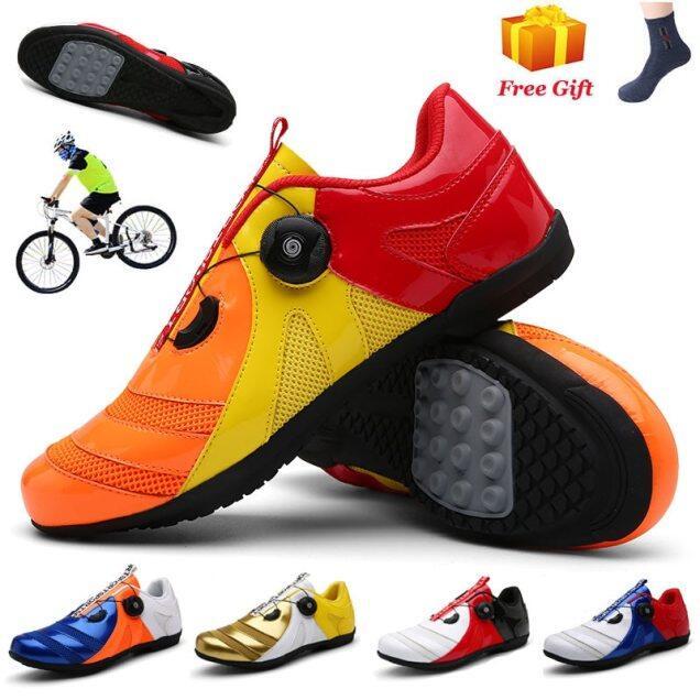 Giày MTB Giá Rẻ, Đi Xe Đạp Thể Thao Giày Đạp Xe Nam Nữ, Giày Thể Thao Đua Xe Đạp Đường Trường Giày Đạp Xe Chống Trượt Chuyên Nghiệp Thoáng Khí giá rẻ