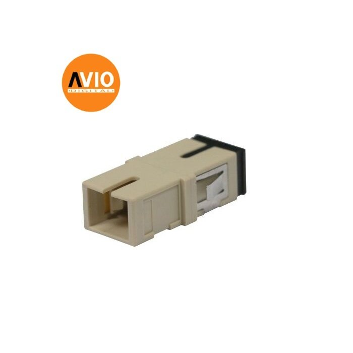 FL-1SCSCMM 1-port (Simplex) SC-SC Flange (Coupler) - multimode