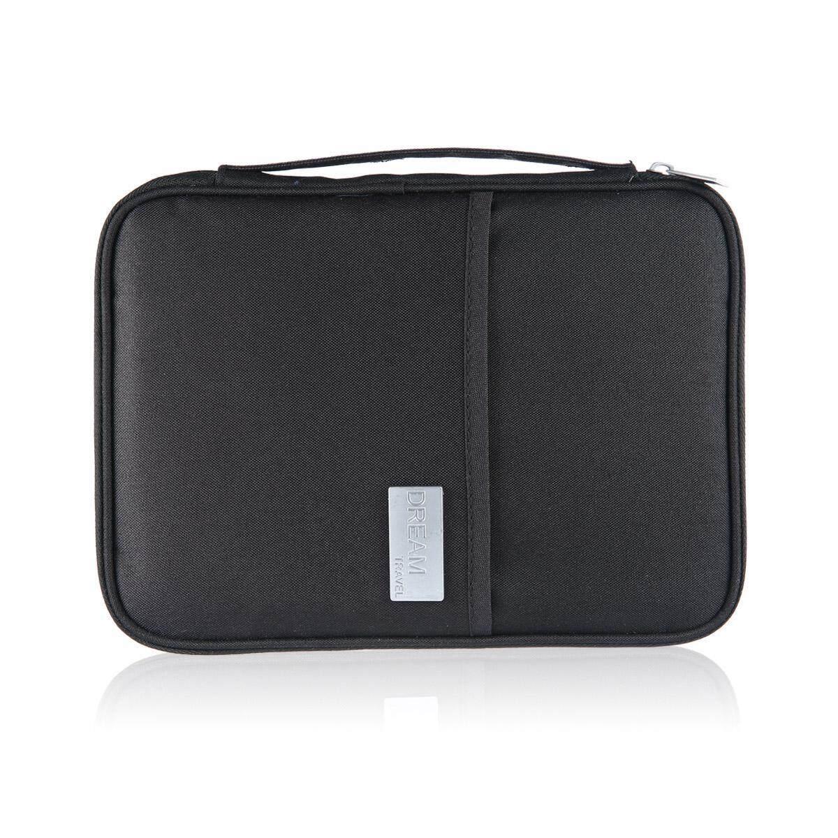 c1c3d0b43249 I-Cloud Travel Wallet Family Passport Holder, RFID Travel Passport  Wallet,Travel Document Holder w/RFID Blocking