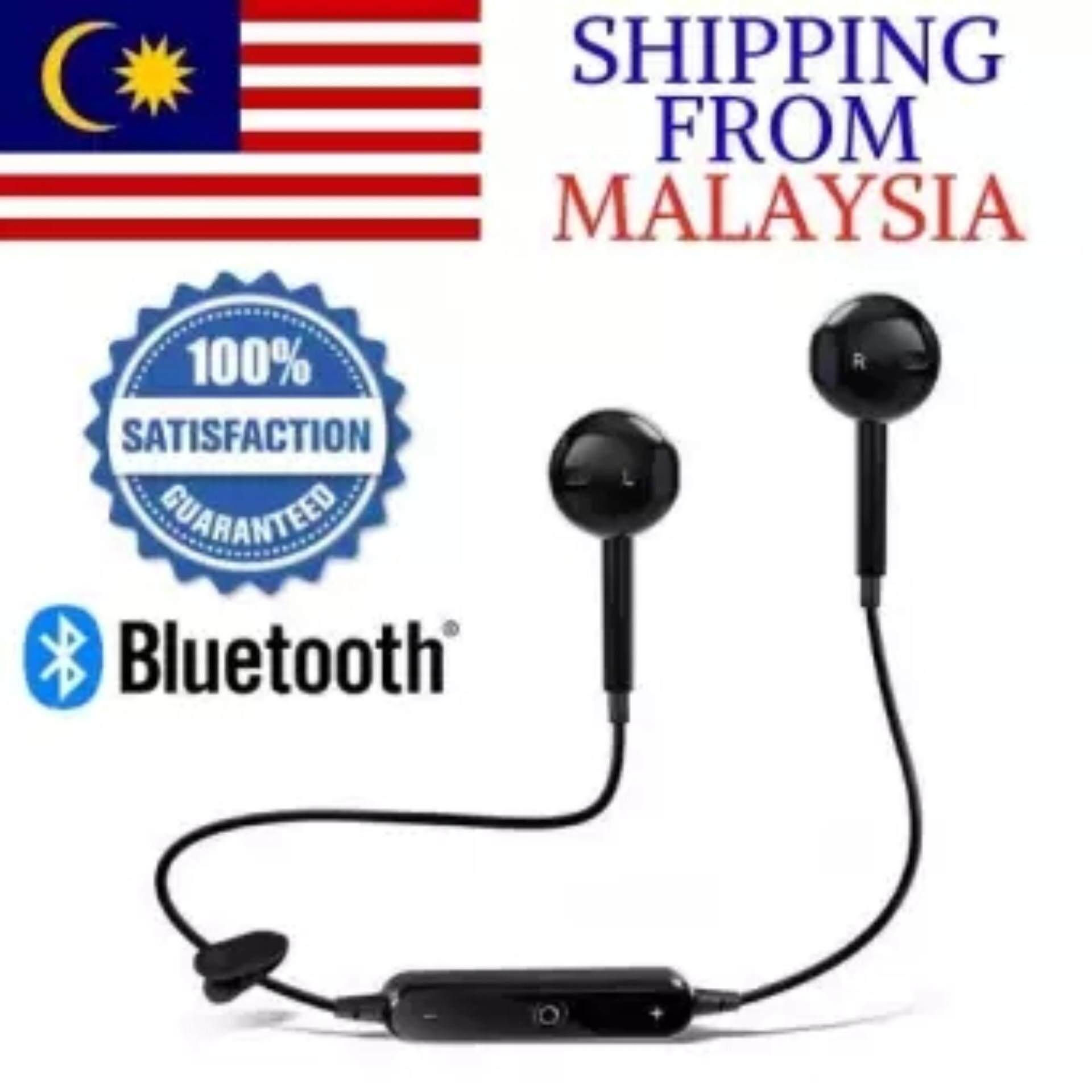 S6 Wireless Sport Headphones In-ear Earphone Bluetooth V4.2 Wireless Earphones Headset Stereo