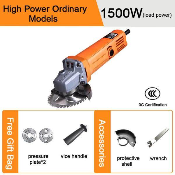 LOMVUM 2000W Angle Grinder Electric grinder Cutting/Sanding/Polishing/Grooving[Free Gift]