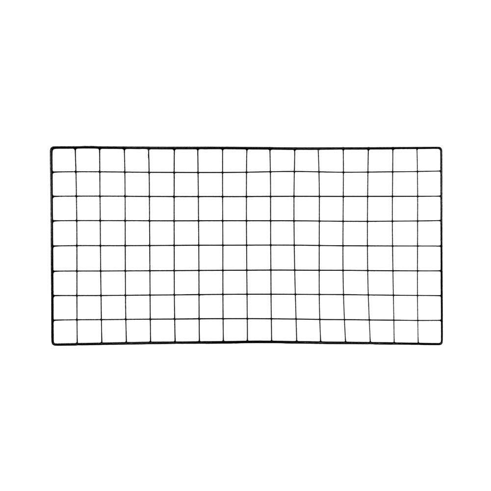 GUO Iron Frame Wall-Mounted Shelf DIY Grid Photo Wall Multifunction Ins Mesh Display Panel Art Display Organizer Memo Board